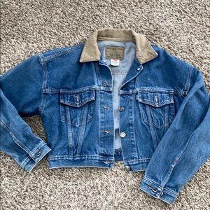 Vintage Levi's cropped denim jacket